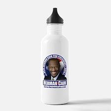 Vote Cain Water Bottle