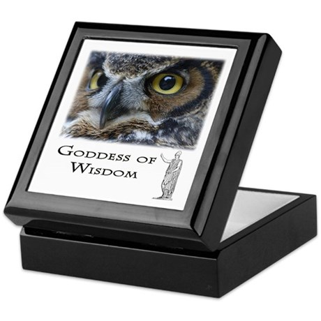 Goddess of Wisdom Keepsake Box