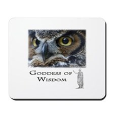 Goddess of Wisdom Mousepad