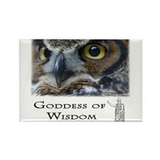 Goddess of Wisdom Rectangle Magnet