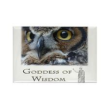 Goddess of Wisdom Rectangle Magnet