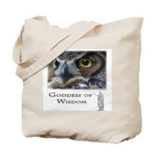 Goddess of Wisdom Tote Bag