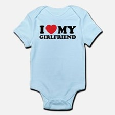 I love my girlfriend Infant Bodysuit