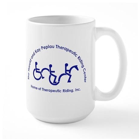 Therapeutic Riding, Inc. Large Mug- Hey Dobbs!