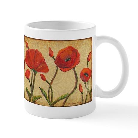 Poppy Paradise Mug