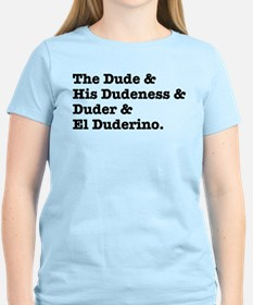 Cute Big lebowski quote T-Shirt