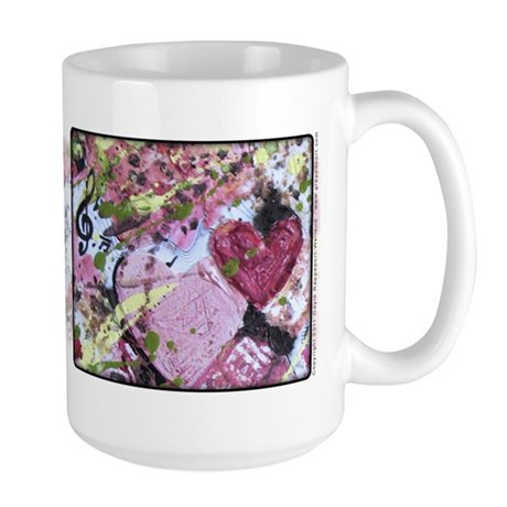 A Song in My Heart Large Mug