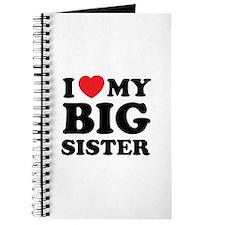 I love my big sister Journal