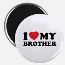 """I love my brother 2.25"""" Magnet (100 pack)"""