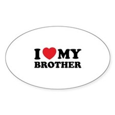 I love my brother Decal