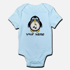 Personalized Music Penguin Infant Bodysuit