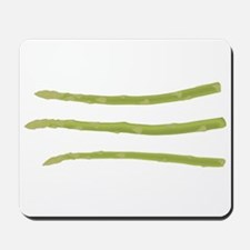 Asparagus Inspires Gentle Tho Mousepad