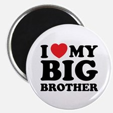 """I love my big brother 2.25"""" Magnet (100 pack)"""