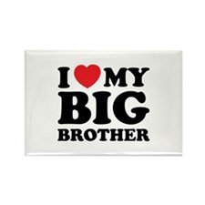 I love my big brother Rectangle Magnet (10 pack)