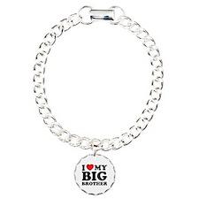 I love my big brother Charm Bracelet, One Charm