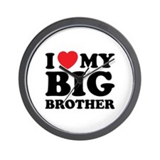 I love my big brother Wall Clock