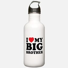 I love my big brother Water Bottle