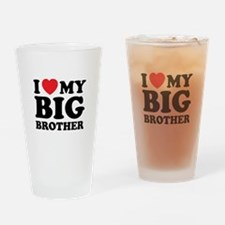 I love my big brother Drinking Glass