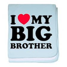 I love my big brother baby blanket