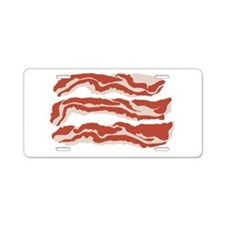 Bring Home the Bacon! Aluminum License Plate
