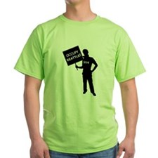 Occupy Seattle Sign T-Shirt
