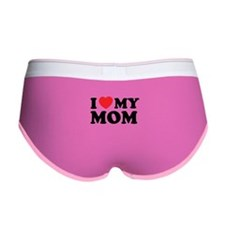 I love my mom Women's Boy Brief