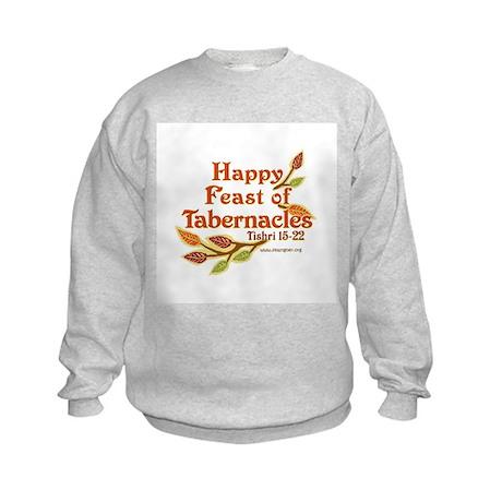 Happy Feast of Tabernacles Kids Sweatshirt