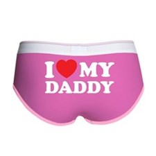 I love my daddy Women's Boy Brief