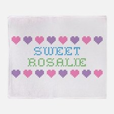Sweet ROSALIE Throw Blanket