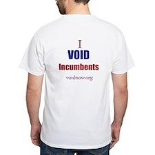 Men's T-Shirt, VOID Incumbents, Front & Back