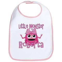 Little Monster Roberta Bib