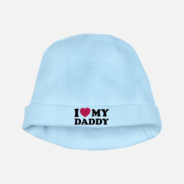 I love my daddy baby hat