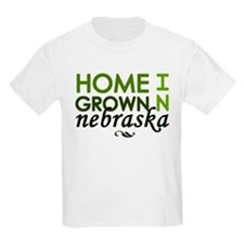 'Home Grown In Nebraska' T-Shirt