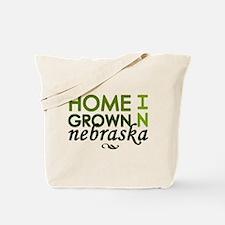 'Home Grown In Nebraska' Tote Bag
