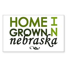 'Home Grown In Nebraska' Decal