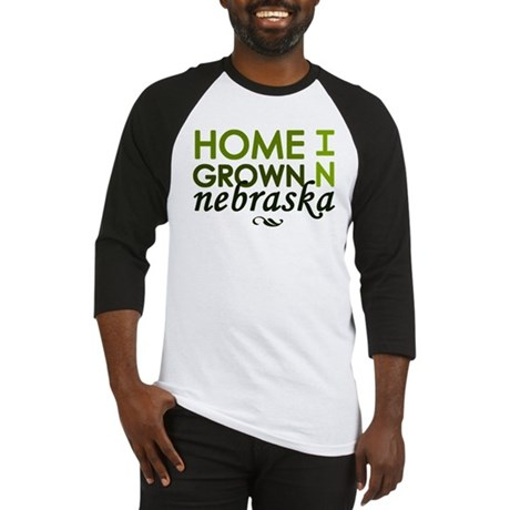 'Home Grown In Nebraska' Baseball Jersey