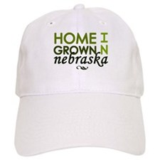 'Home Grown In Nebraska' Baseball Cap