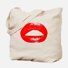 Big Kiss (red) Tote Bag