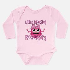 Little Monster Rosemary Long Sleeve Infant Bodysui