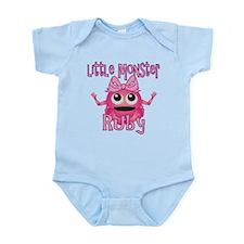 Little Monster Ruby Infant Bodysuit