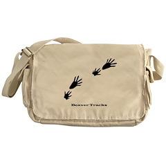Beaver Tracks Messenger Bag