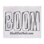 BOOM Throw Blanket