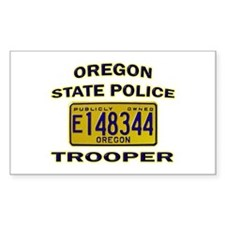 Oregon State Police Decal