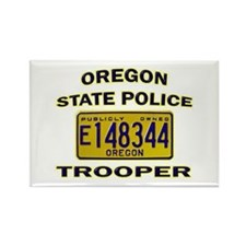 Oregon State Police Rectangle Magnet
