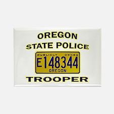 Oregon State Police Rectangle Magnet