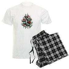 Baseball Christmas Tree Pajamas