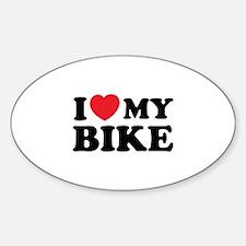 I love my bike Decal
