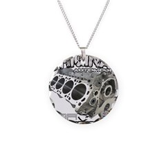 CarLegends Engine Necklace