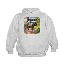 Burro Cigar Label Hoodie