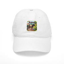 Burro Cigar Label Baseball Cap